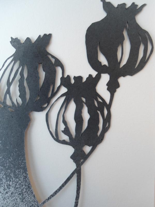 Helen Poremba Textile Artist - poppy-head-cutout-stencil