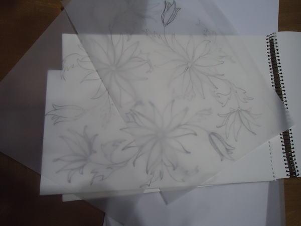 Helen Poremba Textile Artist - Sketches