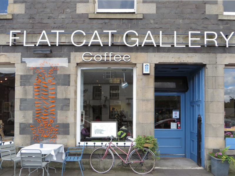 Helen Poremba Textile Artist - Flat Cat Gallery Exhibition