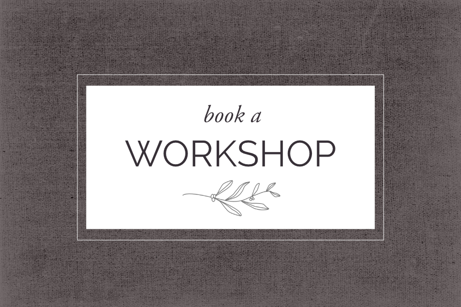 Book A Workshop | Helen Poremba Textile Art & Sewing Classes