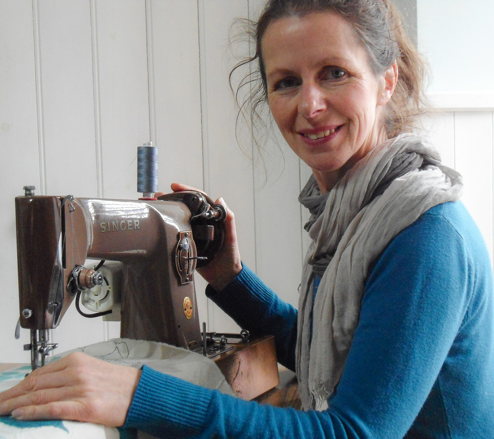 Artist Profile | Helen Poremba Textile Art & Sewing Classes
