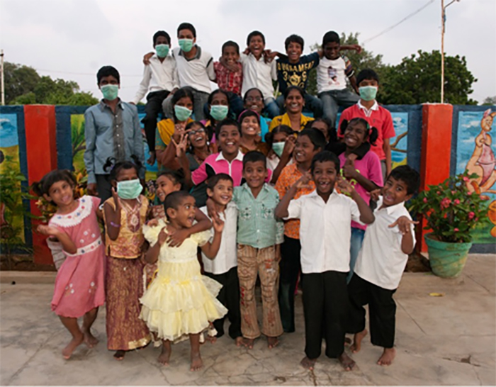 [Image taken from Shelter Trust]  Shelter Trust – HIV home for 27 children in Chennai – Tamil Nadu