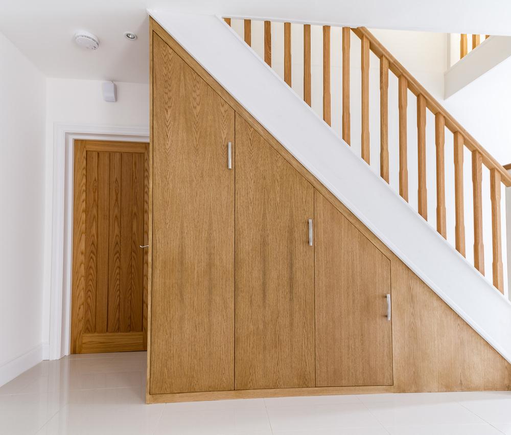 Custom Built Under Stairs Storage