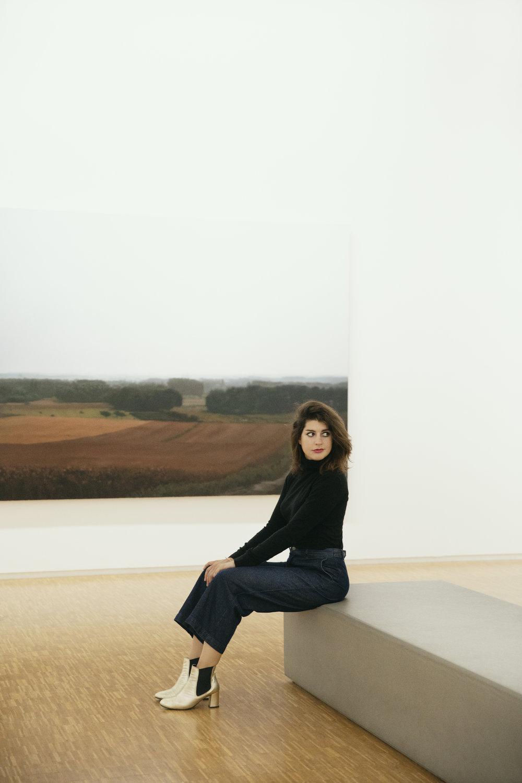 Clothilde Matta - Portrait. Crédit photo: Juliette Guénon. Décembre 2018. Centre Georges Pompidou.