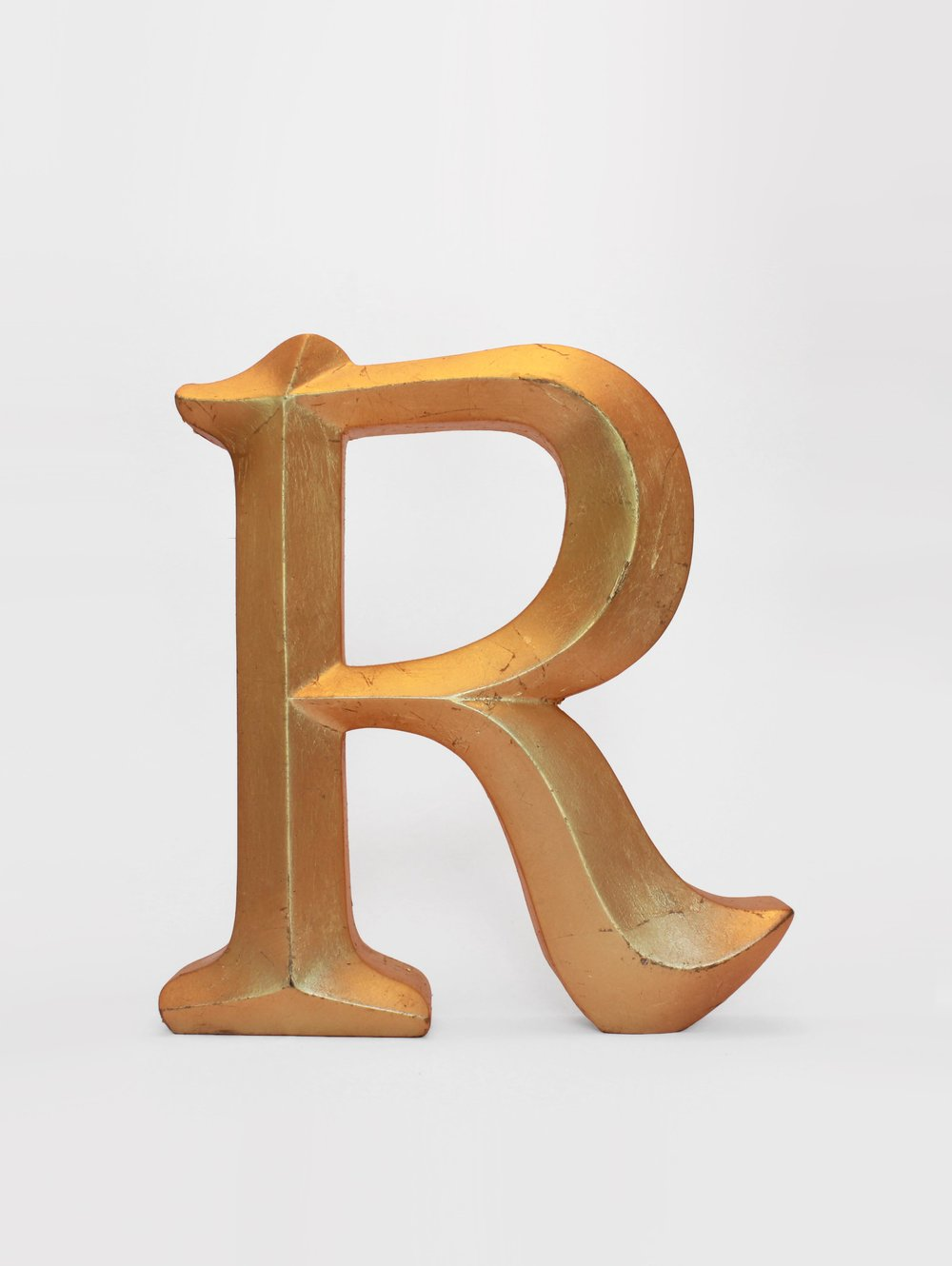 GILDED LETTERS