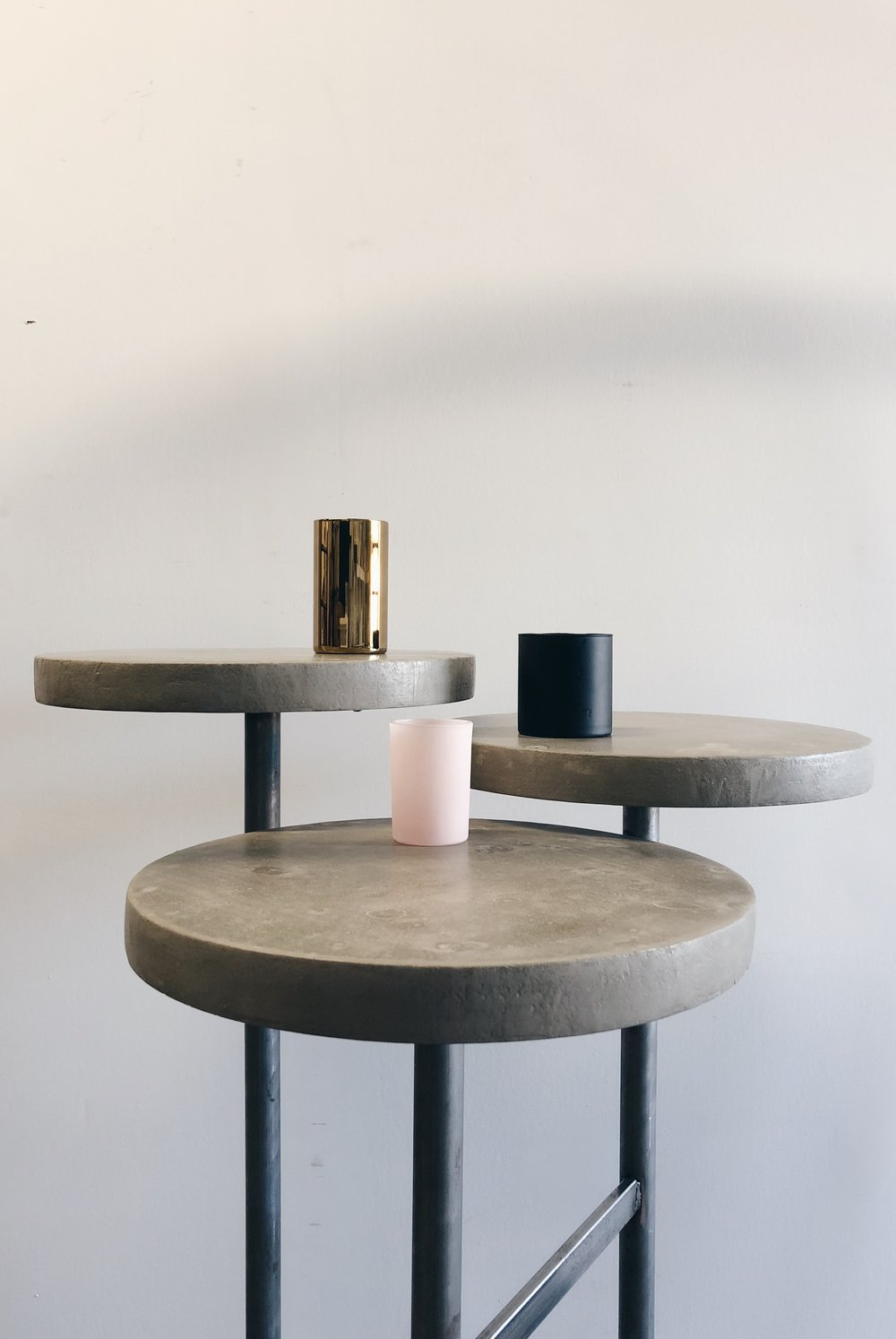 TRI-TIER COCKTAIL TABLE