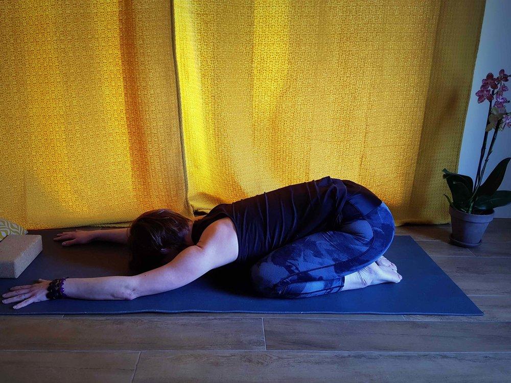 S'intérioriser - séance de Hatha Yoga # mars 2018