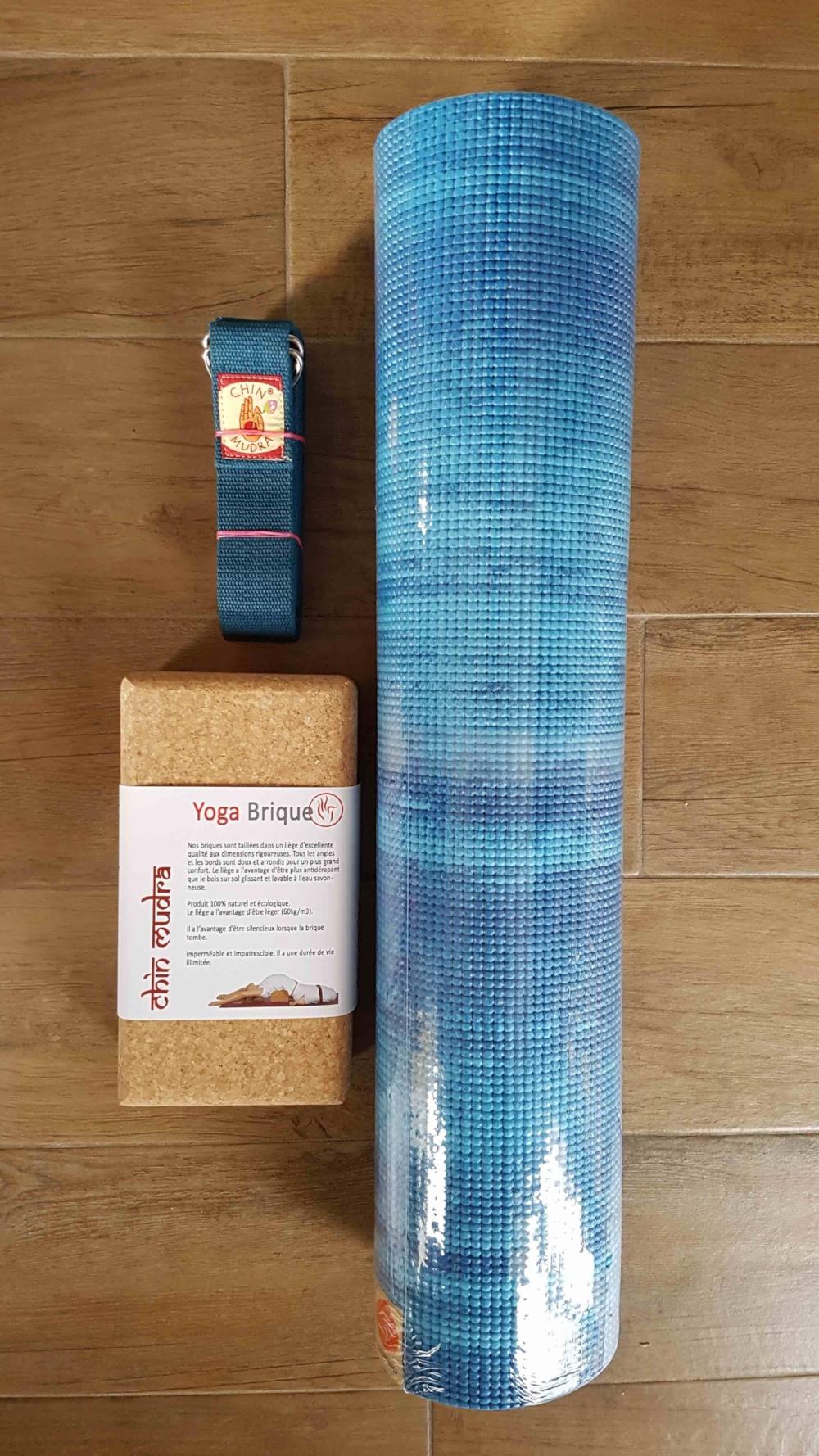 Kit Eau - 1 tapis Lagon + 1 bloc liège + 1 sangle bleue : 59€TTC