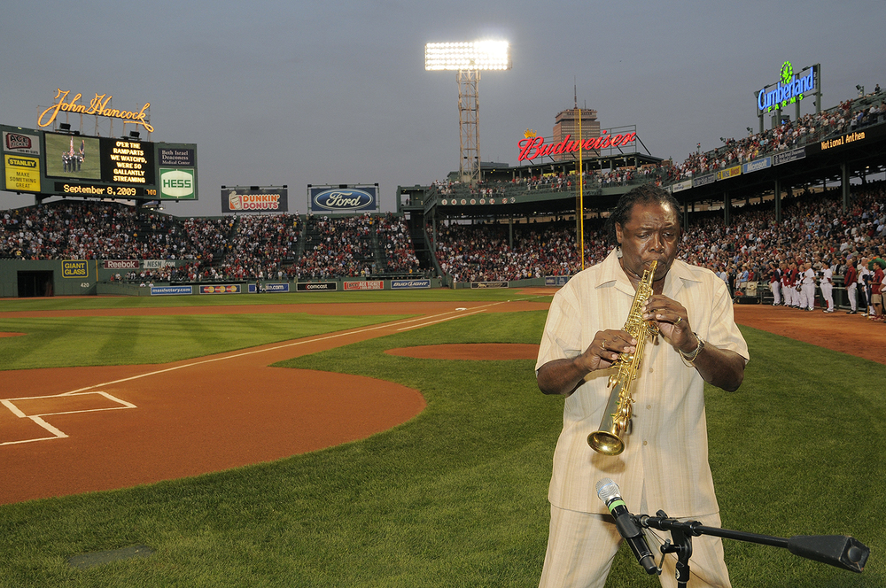 Wendall at Fenway Park