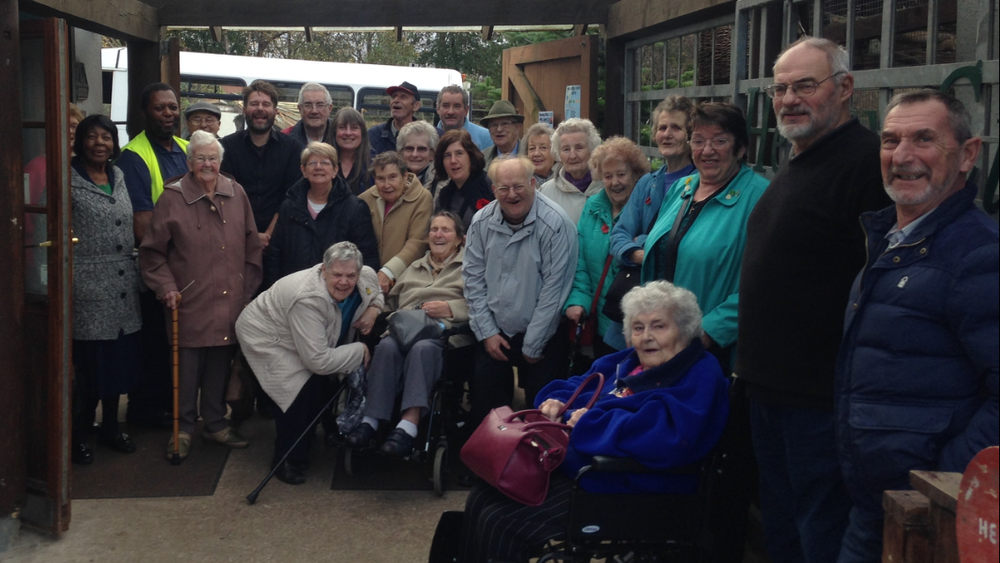 The Spires Community Group's visit to Heeley City Farm