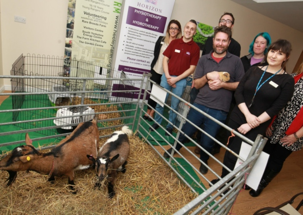 Farming Comes To You project launch at Woodhill Grange Nursing Home, Sheffield