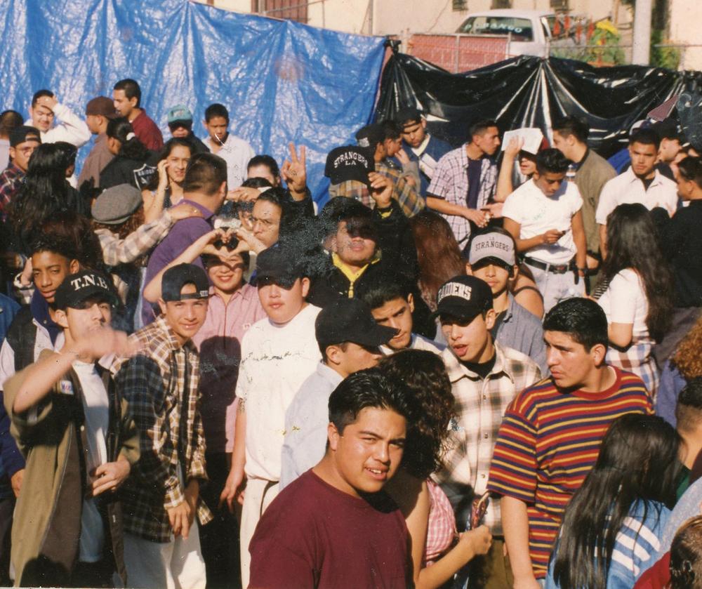 SWING KIDZ CREW después del funeral de Anthony Alonzo aka Burny Funeral (1996)