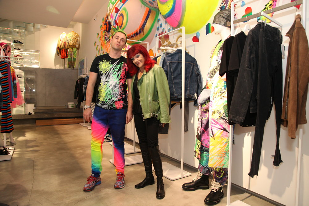 Ben Copperwheat y Patricia Field