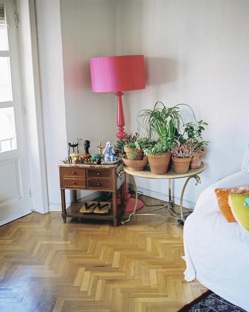 Un rincón del piso de Dani Panullo / Photo:Nauzet Gaspar
