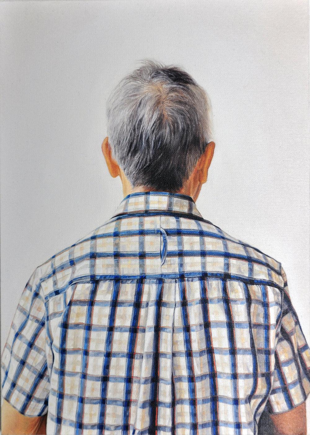 N O N A G A R C I A (1978) Untitled, 2010,óleo sobre lienzo,2 9 , 5 x 2 1 ,cortesía del artista y Asia Art Archive, Hong Kong.