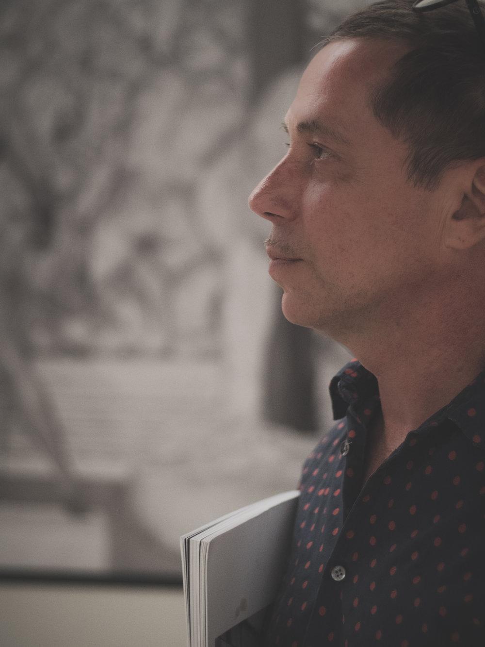 Valery Katsuba durante la entrevista / Foto: Luca S. López