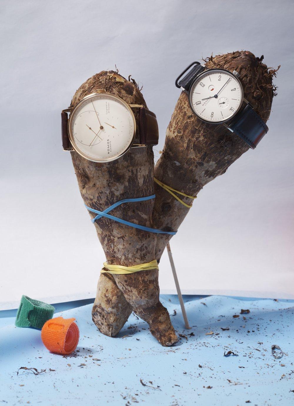 Relojes de  NOMOS GLASHÜTTE.