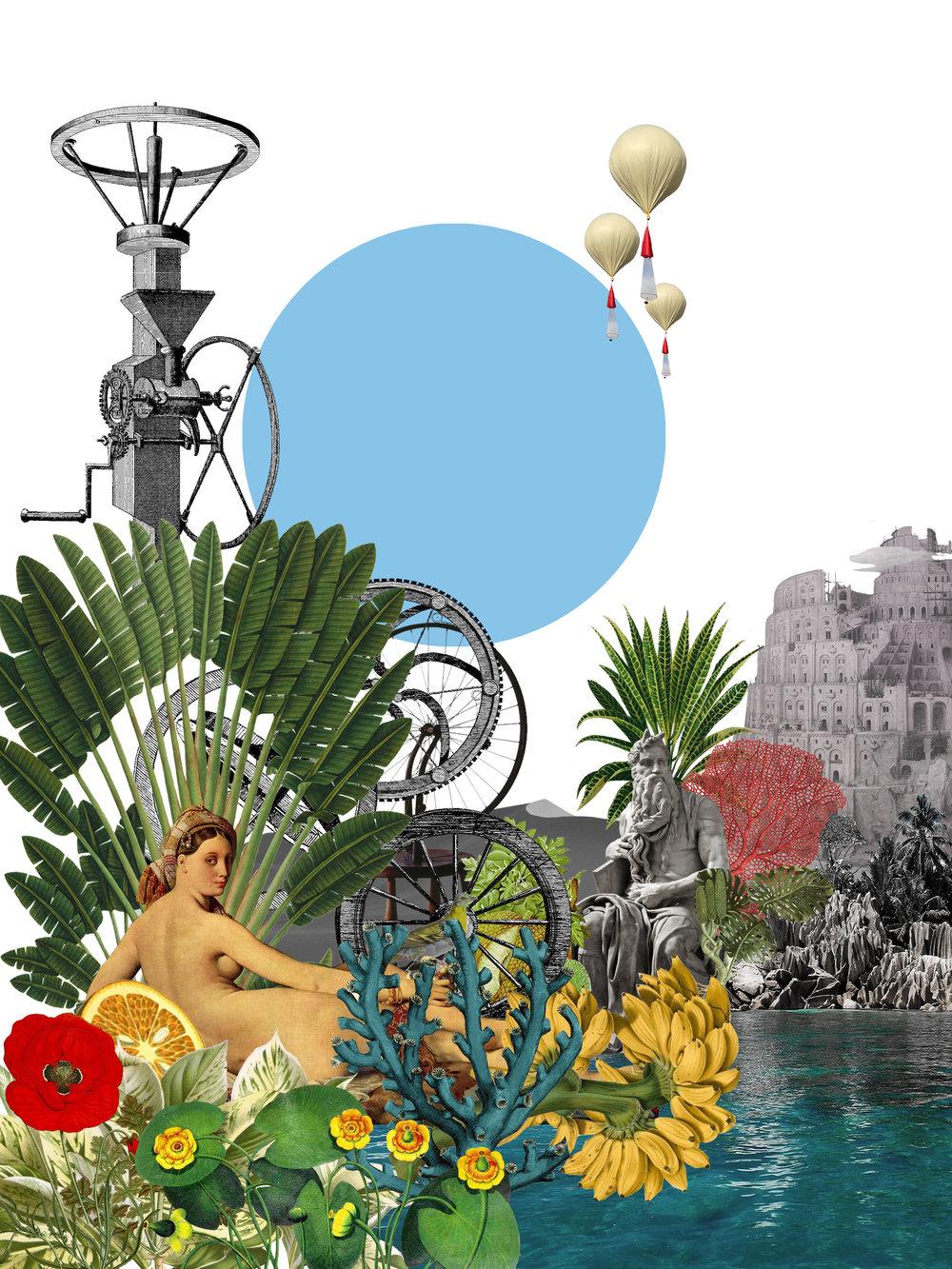 La gente podrá profesar la religión que desee; sin embargo, los días feriados girarán en torno a prácticas que la propia isla inventará. Para ello, Mai-Thu Perret, junto a Adrián Villar Rojas, crearán nuevas deidades, idearán rituales sagrados y difundirán misticismos locales.