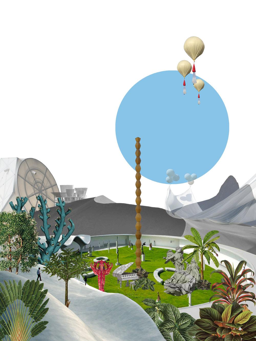 En el lanzamiento de la isla, The Moving Museum montará una exposición de gran escala para presentar las estrategias de los artistas. Con 126 exposiciones individuales, cada artista también dirigirá un simposio para explorar los temas de sus propuestas y recibir comentarios del público antes de implementar sus proyectos.