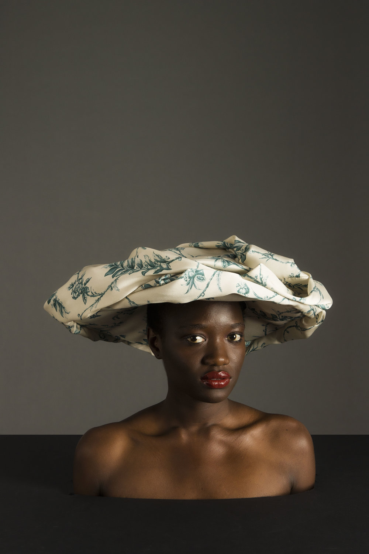 Sombrero de  MULBERRY .