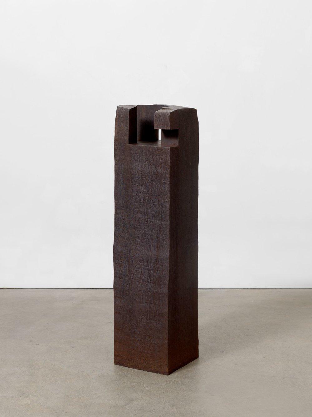 Eduardo Chillida Enparantza (Square) 1990 Steel 122.5 x 29.5 x 29.5 cm / 48 1/4 x 11 5/8 x 11 5/8 in
