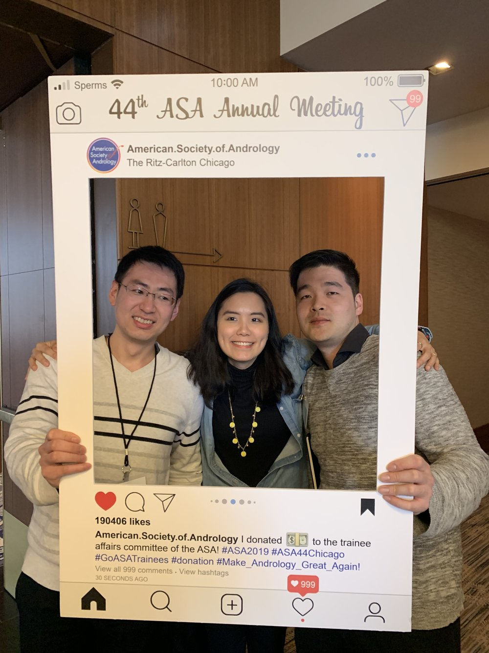 Jean-Ju gave a talk , Jae's poster was very popular, and we had fun in the big city!