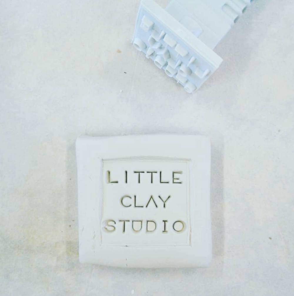 Logo Stamp for Little Clay Studio