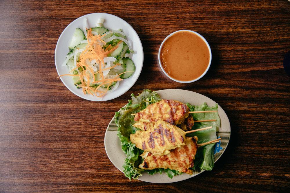 Chicken Satay anyone?