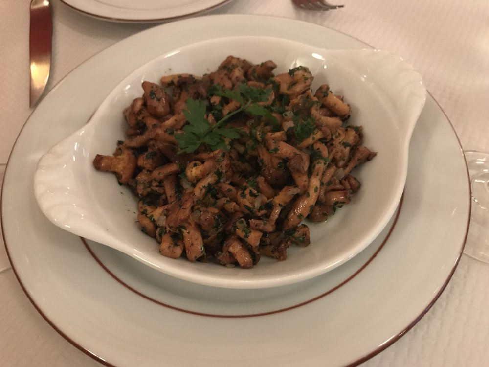 Cogumelos girolles. Foto: Mandolina Blog.