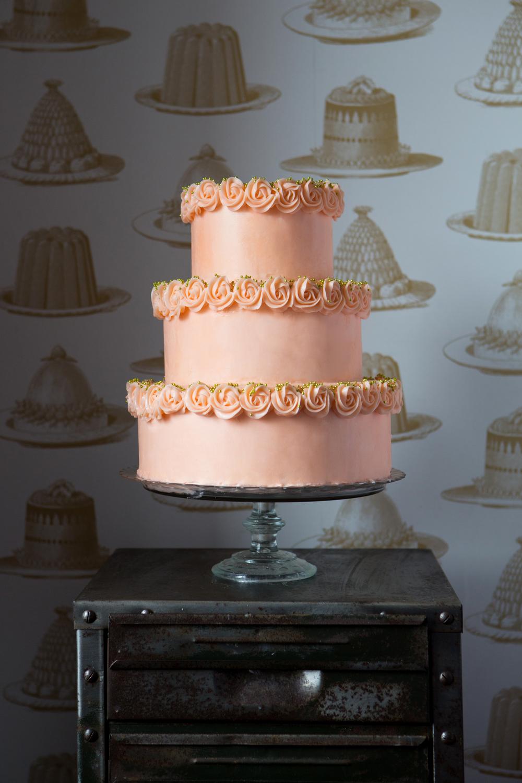 Vintage buttercream cake