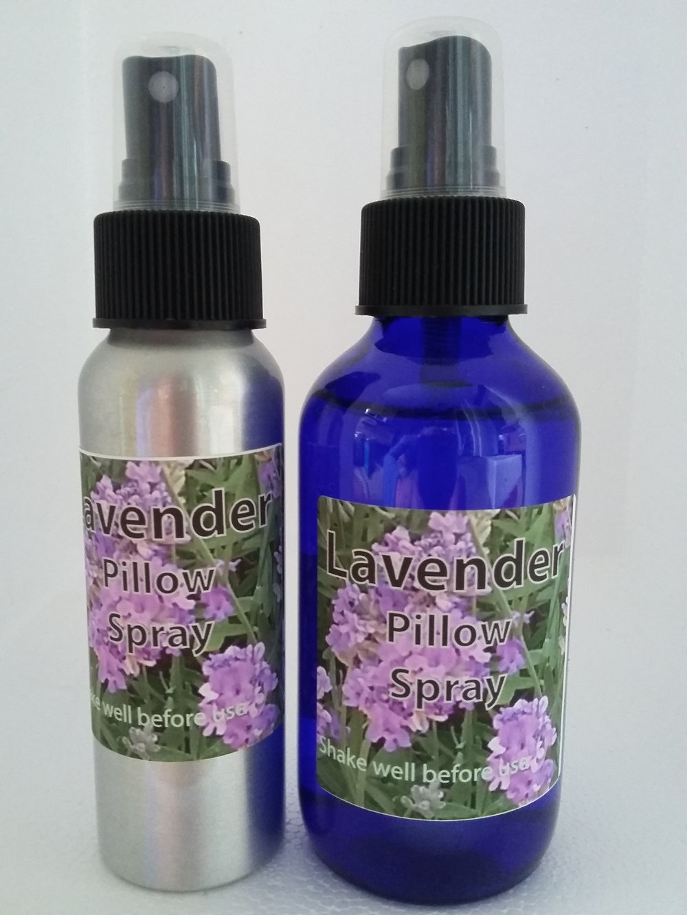 Lavender spray for the pillow, sheets, or anywhere you need a little more calm and relaxation.