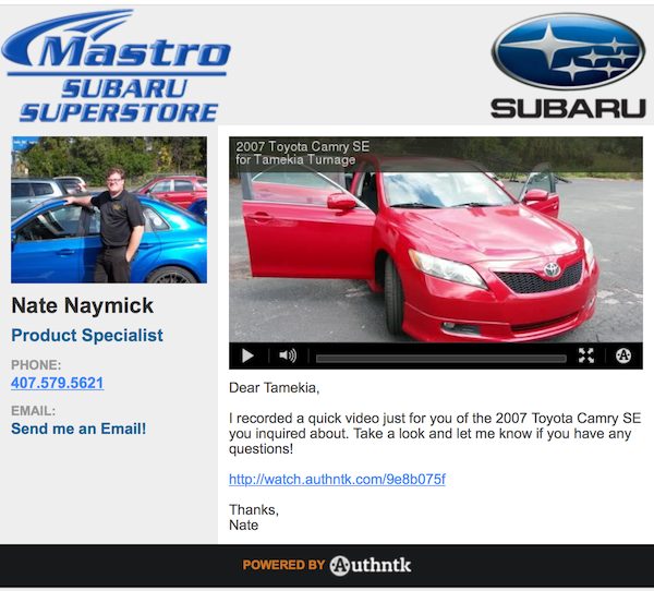 personalized-dealership-video