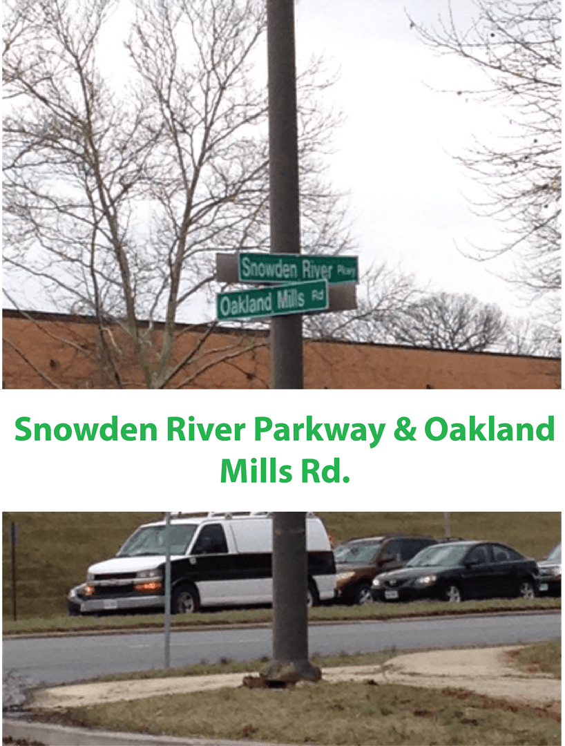 Snowden River Parkway and Oakland Mills Rd Intersection AAA Physical Therapy k.png