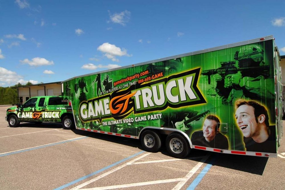 Hop inside  GameTruck  for an unforgettable video gaming experience