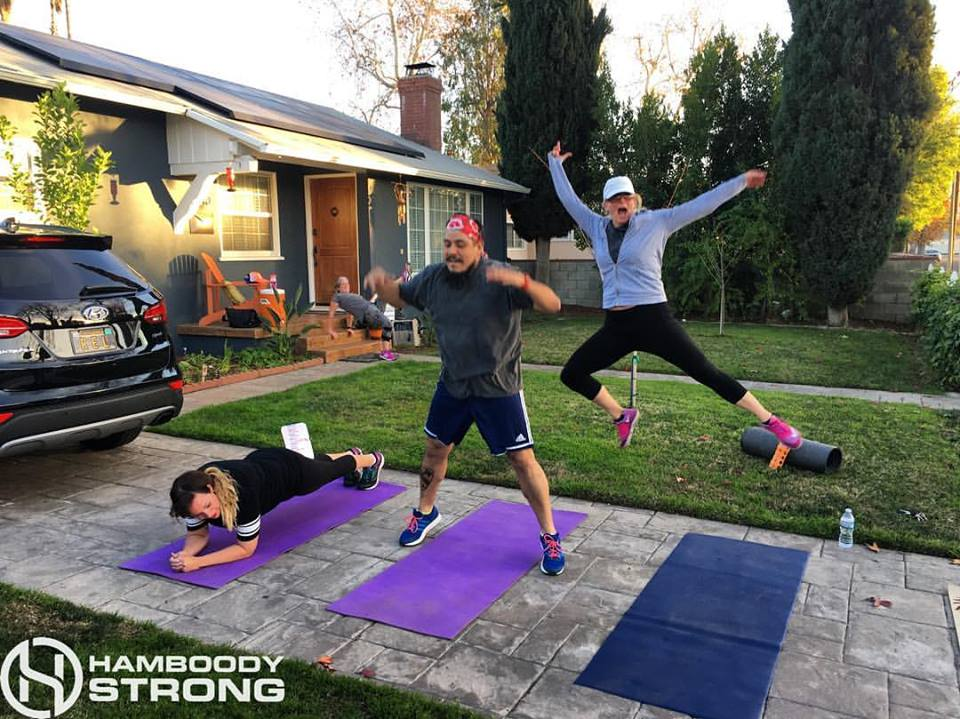 """I like the variation in routine, I enjoy the team atmosphere and encouragement, I love that I'm able to target  muscle groups that I miss during other exercise activities.  I look forward to Hamboody and feel energized afterwards."" ~ Karen Y."