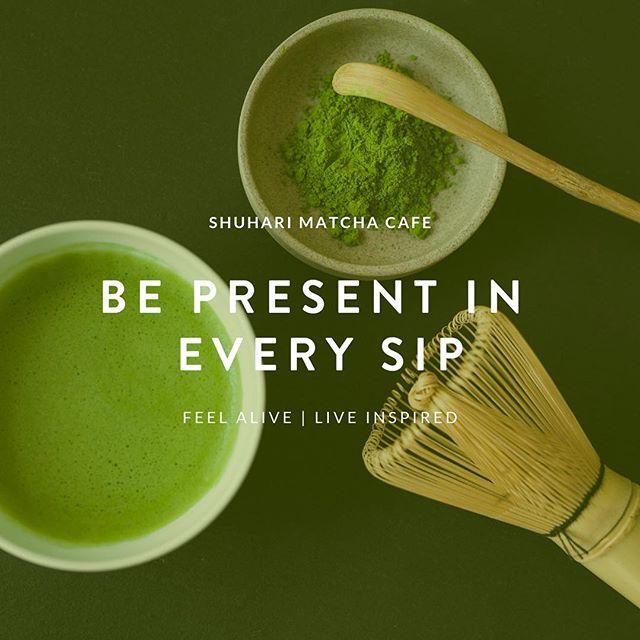 A Life of Balance🍵💚 #shuharicafe #shuharimatcha #bepresent