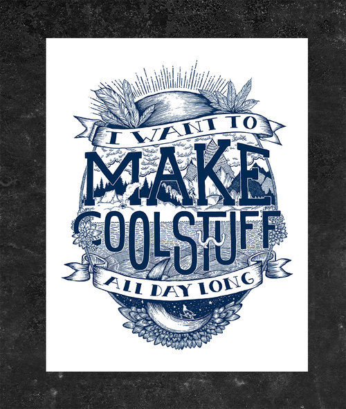 make cool stuff poster boundary thorn