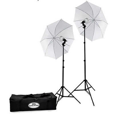 SAVAGE 500/700W LED STUDIO KIT