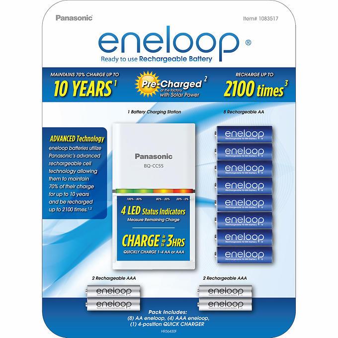 ENELOOP AA/AAA PRODUCTS