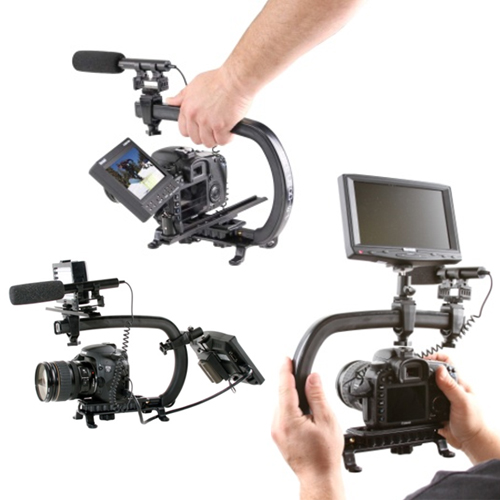 Multiple Mounting Options - The Scorpion can be configured into countless different configurations. The versatile platform is extremely flexible allowing you to customize your rig based on what you need to get your shot. From Flyer Mode to Cage Mode and every different configuration in-between.