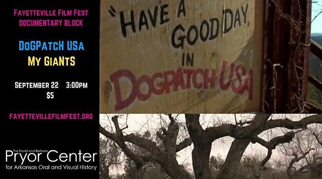#documentary-film #fayfilmfest #dogpatch  tickets at filmfreeway.com/FayettevilleFilmFest/tickets
