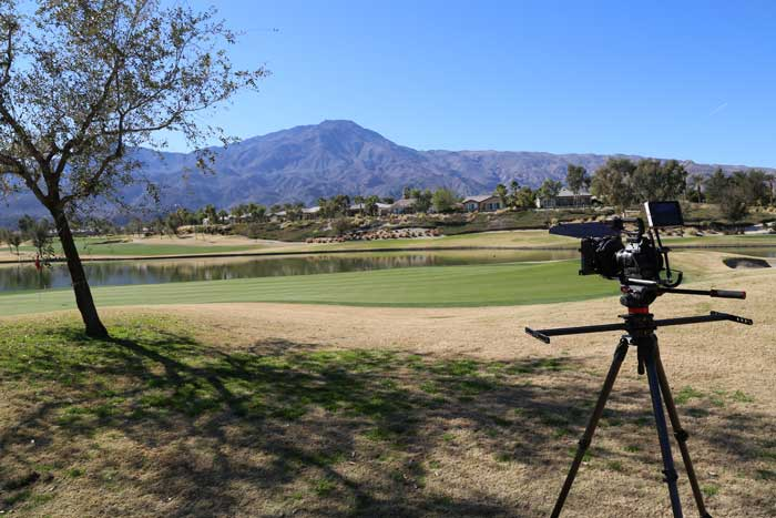 Trilogy la quinta golf course video shoot