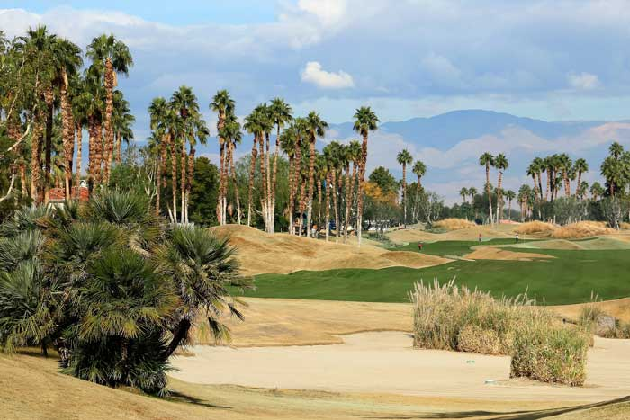 PGA West golf course conserving water