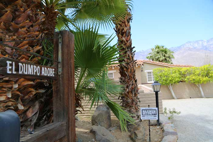 Araby Springs funny sign Palm Springs
