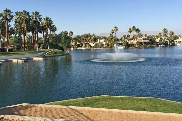 Chateau at Lake La Quinta views