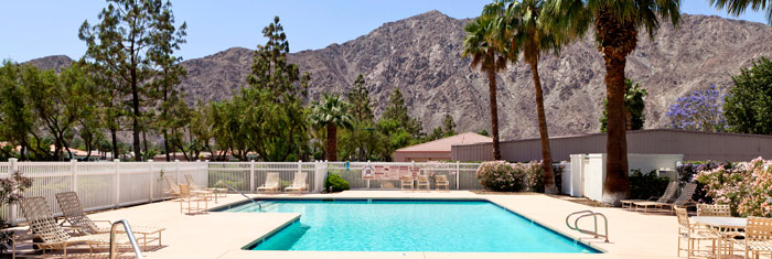 PGA West La Quinta community pool for owners and guests