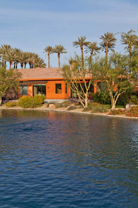 Palmilla La Quinta waterfront home