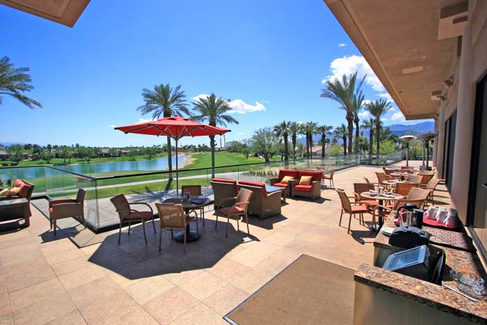 PGA West La Quinta Tournament Clubhouse Patio