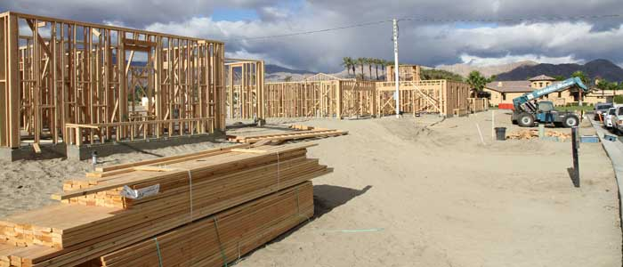 Palm Springs New Home Construction