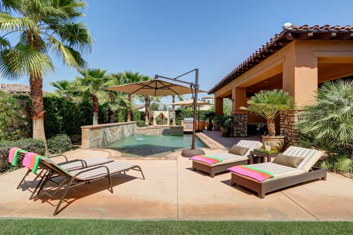 Madison Estates Indio pool home for sale